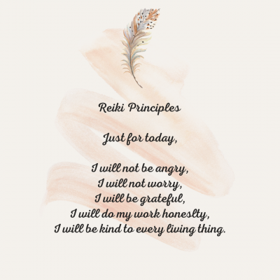 Cream and Peach Feather and Brushstroke Quote Instagram Post Template (1)